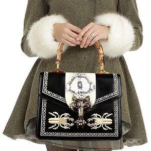 Handbags - Top Handle Handbag Bee/Fox Shoulder Bags